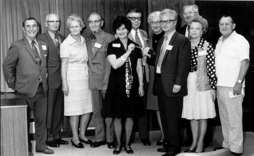 Oregon Chapter board of directors in 1973